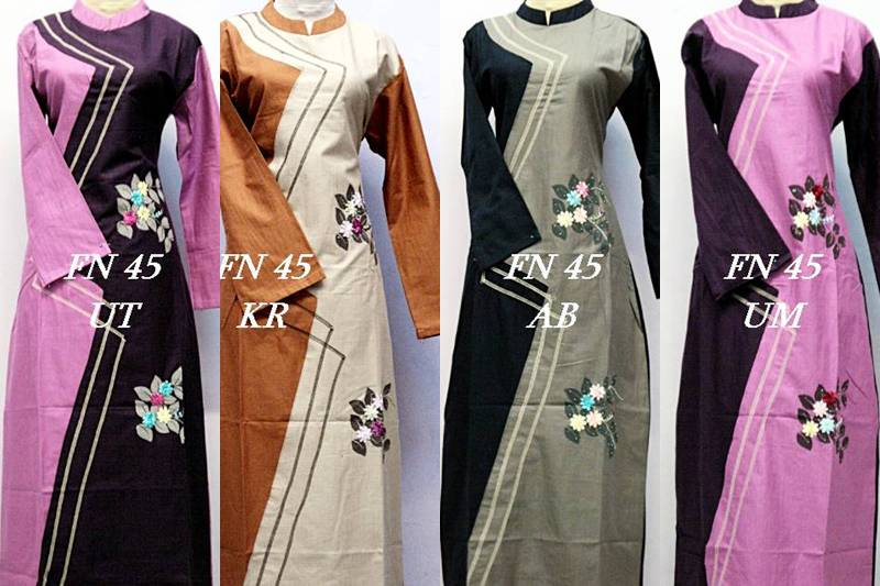 Jenis dan Model Baju Gamis, Berikut Ini