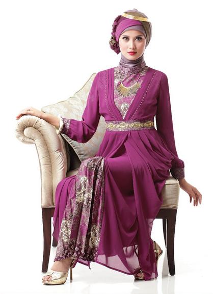 Ciri Khas Baju Busana Muslim 2015 untuk Perempuan Dewasa
