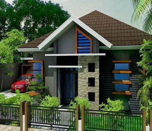 Tips Memilih Desain Rumah Dari Contoh Gambar Rumah Minimalis