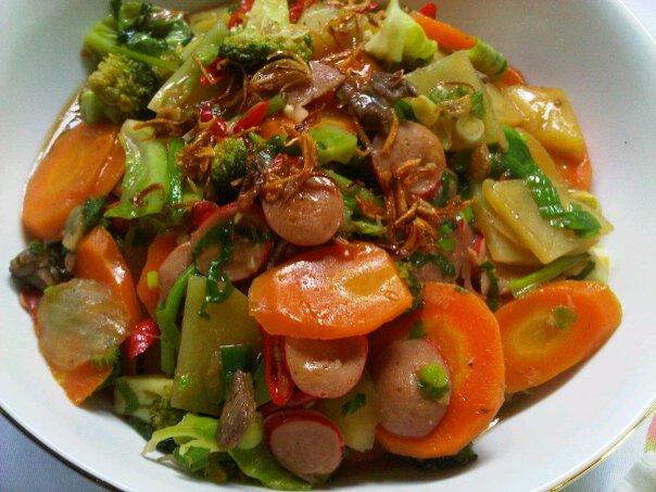 Tips Kuah Kental Pada Resep Capcay Goreng