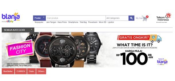 Cari Jam Tanganmu di Blanja.com