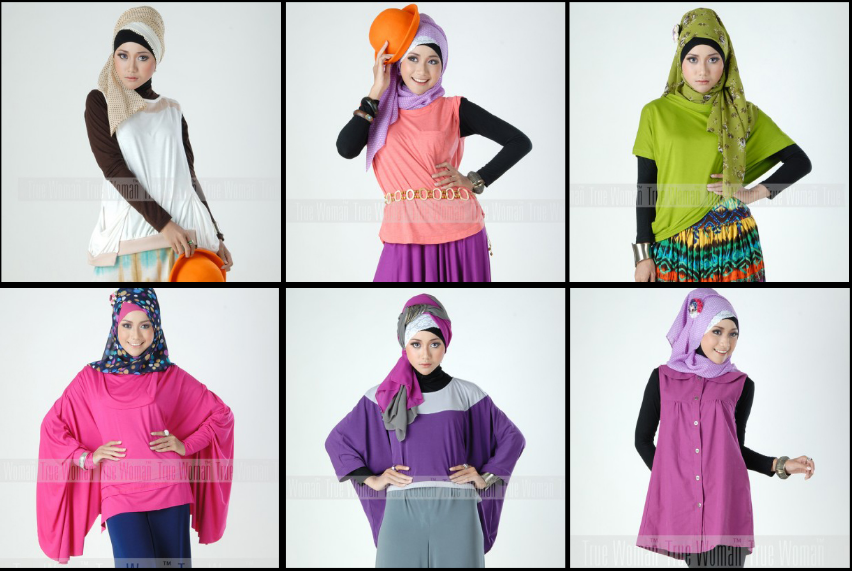 pakaian hijab cantik