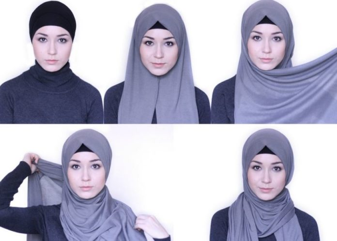 Tutorial hijab sesuai dengan bentuk wajah