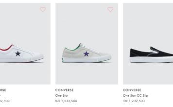 Sepatu converse terbaru