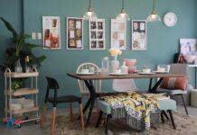 desain ruang makan ala keluarga milenial